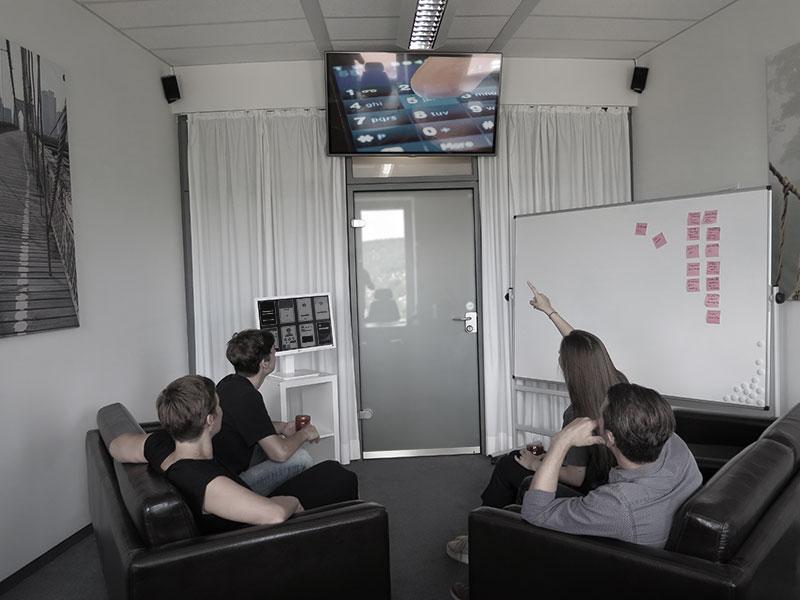UX2B Lab Beobachtungsraum